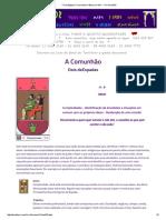 _Tarot Egípcio_ a Jornada m Busca Do Ser_ - A Comunhão