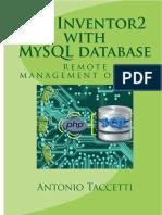 App Inventor 2 With MySQL Datab - Antonio Taccetti