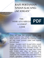 GEOGRAFI PERTANIAN(Pertanian Kacang - Kacangan Di Kalimantan Selatan)