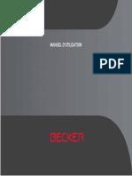 Manual Becker BE V2 FR