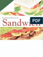 Las Mejores Recetas de Sandwich