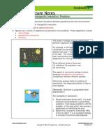Bio Notes 14.6.1 Community Ecol Predation