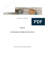 APOSTILA - MINI CURSO - UMA INTRODUÇÃO AOS CÓDIGOS CORRETORES DE ERROS.pdf