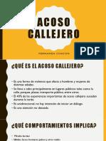 Taller Acoso Callejero