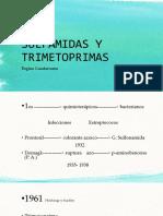Sulfamidas y Trimetoprimas