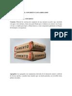 Componentes y Tipos de Concreto