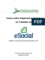 Modulo II Eventos Do ESocial SST