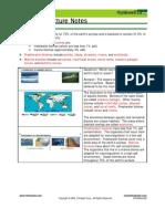 Bio Notes 14.2.3 Aquatic Biomes