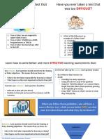 learning assessment class slides