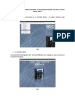 Procedimiento Para Cargar Logica en El Pcl Del Rele f650 General Electric y Latched de Los Pickup
