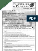 Perito Criminal Federal - Área 14 - Farmácia - Prova Resolvida CESPE 2004