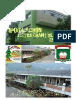 FOLLETO POBLACIÓN ESTUDIANTIL EQUIPO #1 11B