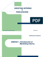 Marketing Interno y Fidelizacion