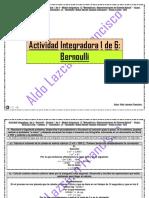 Actividad Integradora 1 de 6 - Bernoulli - Módulo 12 - Prepa en línea - SEP - G-12.