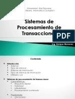 sistemas transacionales