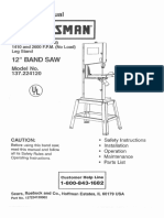 Craftsman Band Saw 12