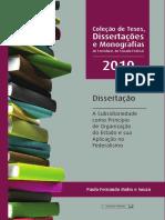 A Subsidiariedade como Princípio de Organização do Estado e sua Aplicação no Federalismo.pdf