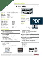 Nissan Civilian Diesel 30PASS RHD