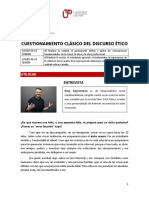 ÉticaProfesional _ Lectura - Discurso Ético _ Sesión 3 (2018