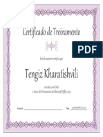 certificado de capoeira