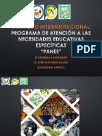Convenio Interinstitucional PANEE