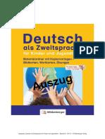 1401-51 Top-Leseprobe Deutsch Als Zweitsprache Fuer Kinder Und Jugendliche