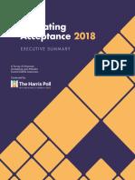 Gay & Lesbian Alliance Against Defamation 2018 National Survey
