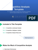 Crayon Competitive Analysis Template