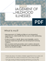 Management of Childhood Illnesses.pptx