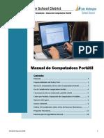Laptop Handbook Spanish