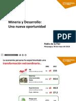 Mineria y desarrollo