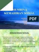 MEMBINA KEMAHIRAN SOSIAL
