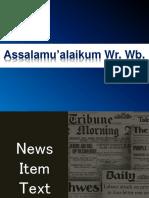 News Item Reza Aditya Afriansyah [Autosaved]
