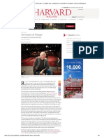 The Future of Theater in a Digital Age, Ranging From Nonprofits to Broadway _ Harvard Magazine Jan 2012