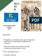 Aula 01- Introdução a Anatomia
