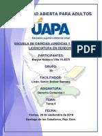 Tarea 4 Derecho Comercial I 28-09-2018