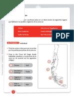Actividad mapa Chile