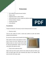 Manualidades procedimiento