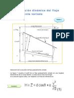 Ecuación Dinámica Del Flujo Gradualmente Variado