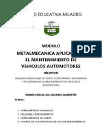 Modulo Metalmecanica
