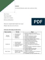 Pautas Para Realizacion de Informe de Laboratorio