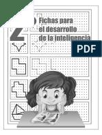 Fichasdesarrollointeligencia2°_MmaterialesEducativos.Com.Mx