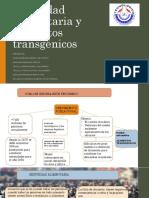 Seguridad Alimentaria y Alimentos Transgénicos