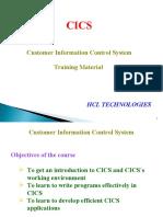 CICS Tutorial - HCL - Vijayanand M - 40145533