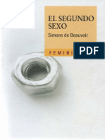Simone de Beauvoir - El Segundo Sexo