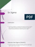 Six Sigma DMAIC