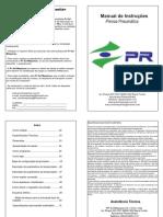 Manual Prensa Pneu