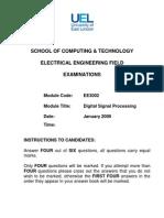 EE3002 Past Exam Paper