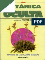 Paracelso Botanica Oculta