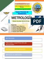 Cap II Metrología